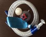 Mạch thở bằng mặt nạ gây mê, bộ lọc và túi thở được sử dụng trong các phòng phẫu thuật (ống thông trơn)